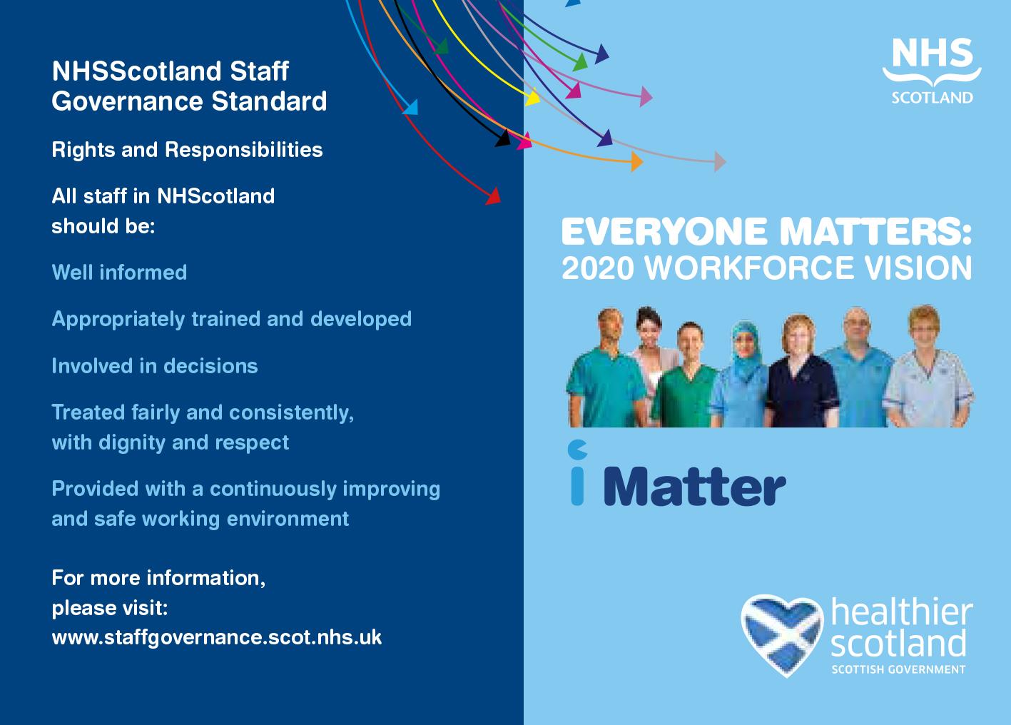 Communication Materials Nhs Scotland Staff Governance